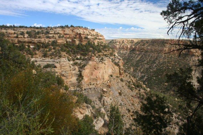 Balcony House canyon