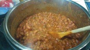 Anasazi bean chili