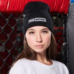 TAKE NOTICE! from FIVE KNUCKLE BULLET <br>Knit Beanie Hat – Embroidered front & back