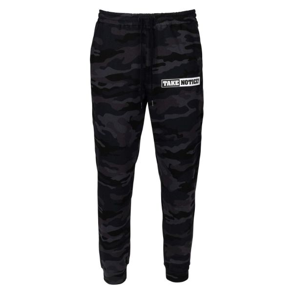 TAKE NOTICE! from FIVE KNUCKLE BULLET <br>Fleece Sweatpants with pockets