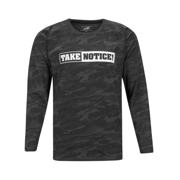 TAKE NOTICE! from FIVE KNUCKLE BULLET <br>Lightweight Long Sleeve T-Shirt