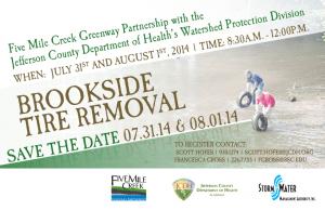 Brookside Clean Up Flyer 2014