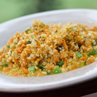 Cauliflower Carrot Risotto