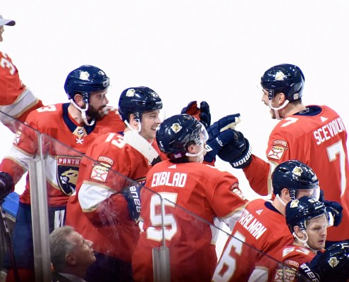 Panthers top Flyers, move to 2nd in the Atlantic