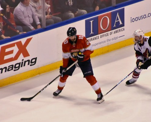 Panthers Lose Ugly Game, Barkov to Start Second Half