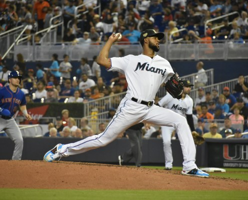 Marlins starting pitching serves as a solid foundation