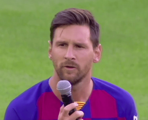 """Lionel Messi: """"Repito lo que dije la temporada pasada. Confío en la plantilla"""""""