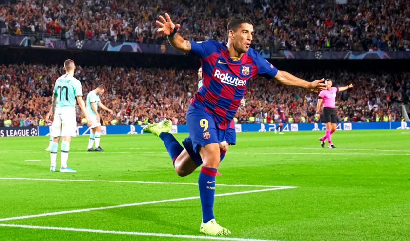 Arturo Vidal y Luis Suárez guían remontada del FC Barcelona ante el Inter de Milán