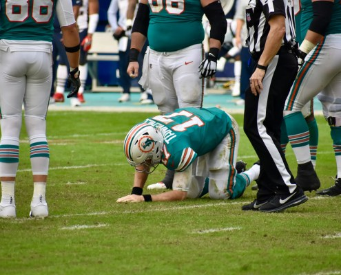 Ryan Tannehill came back from.... Adam Gase?