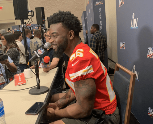 Kansas City Chiefs: Damien Williams saved his best for last