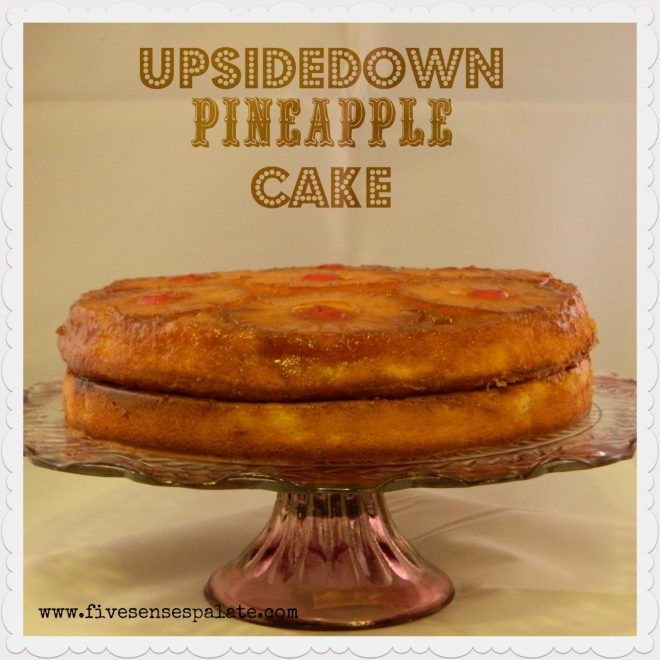 UPSIDEDOWN PINEAPPLE CAKE RECIPE