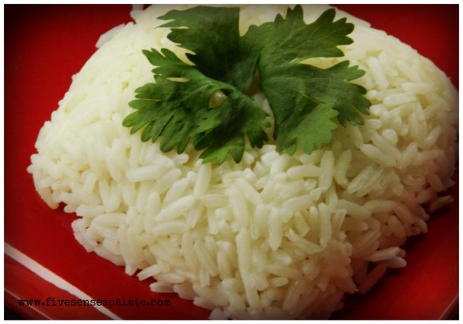 White Rice Cooked