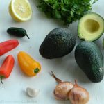 Guacamole recipe ingredients