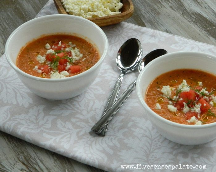 Summer Recipes   Gazpacho   Five Senses Palate