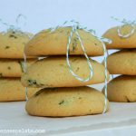 Basil-Lemon end of Summer Cookies