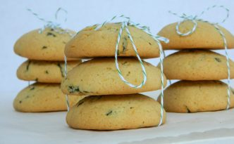 Basil Lemon Cookies Recipe | Five Senses Palate