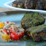 Spiced Lamb Chops with Cilantro Chutney