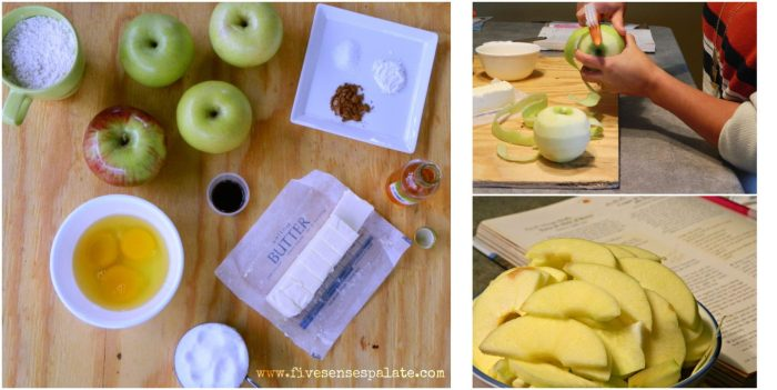 Buttery Apple Cake Recipe | Five Senses Palate