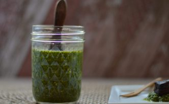 Cilantro Chutney Recipe | Five Senses Palate