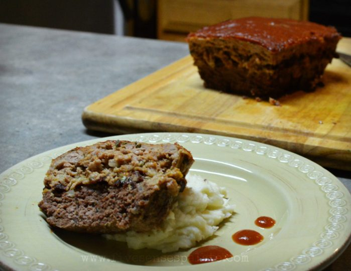 Beef and Pork Meatloaf Recipe | Five Senses Palate