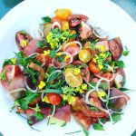 Tomato & Herb Salad Recipe | Five Senses Palate