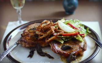 Pork Steak with Sage Butter Recipe