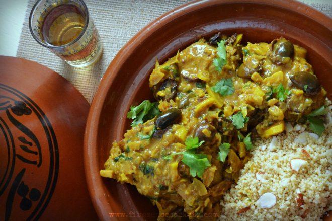 Chicken Tagine Recipe | Five Senses Palate