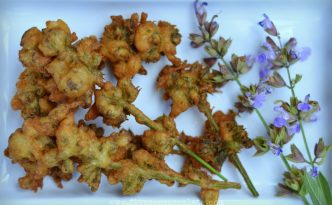 Fried Sage Flowers Recipe | Five Senses Palate
