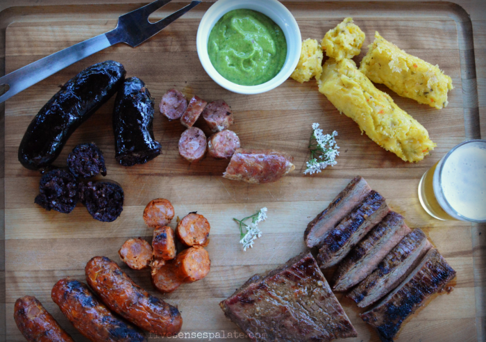 Parrilla Venezolana y Guasacaca Recipe | Five Senses Palate