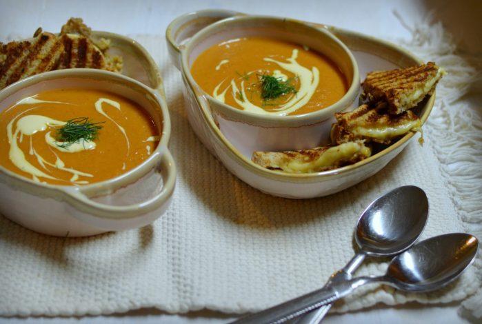 Roasted Tomato & Fennel Soup Recipe | Five Senses Palate