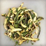 Grilled string beans with herb vinaigrette recipe | Five Senses Palate
