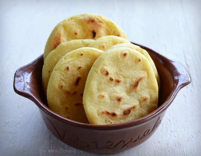 Arepa Reina Pepiada Recipe | Five Senses Palate