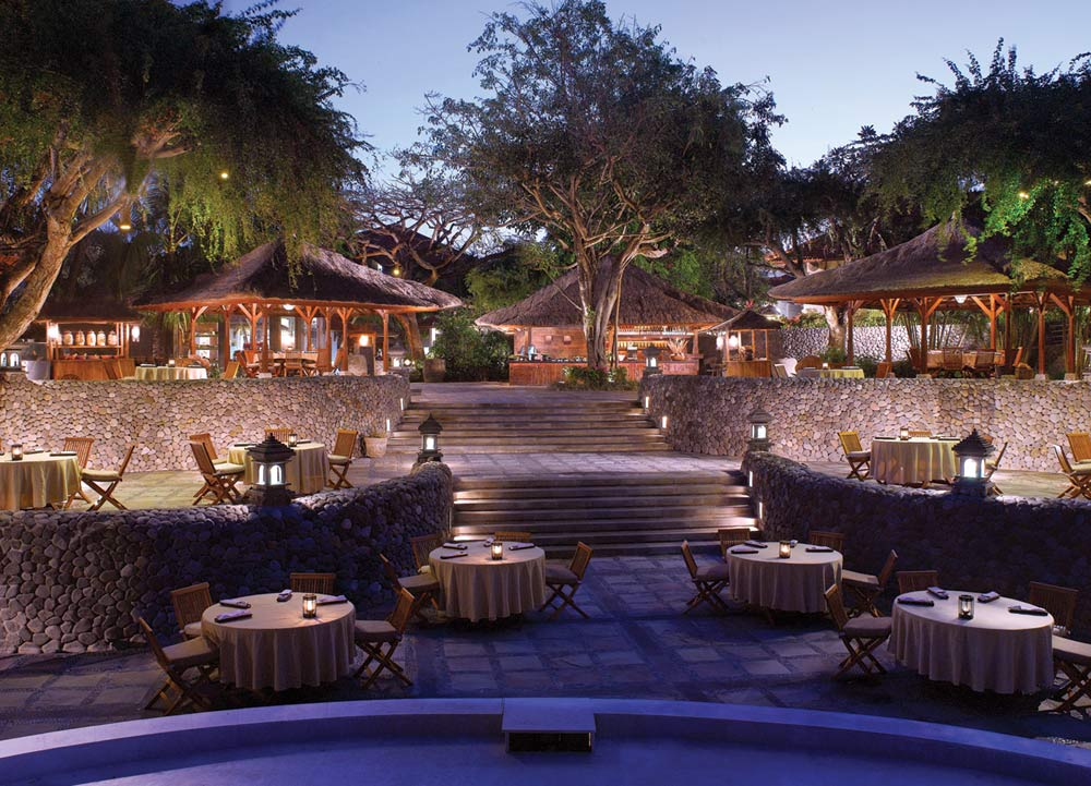 Pasar Senggol Restaurant at Grand Hyatt Bali, Indonesia