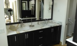 Calacatta Marble Bathroom