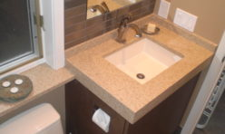 Bathroom Sink Surround