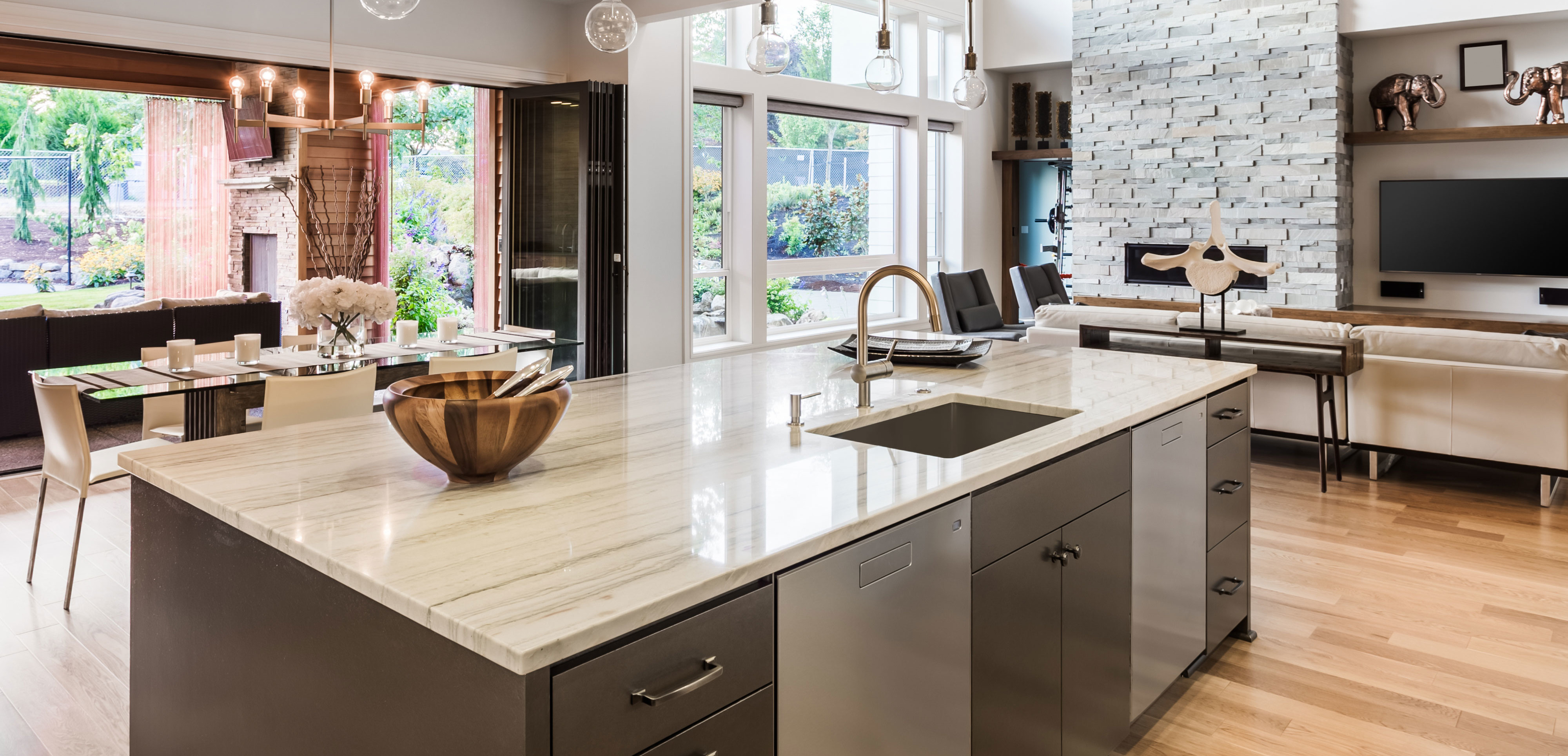 Bellevue granite kitchen counter top