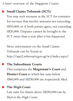 freelance court justice