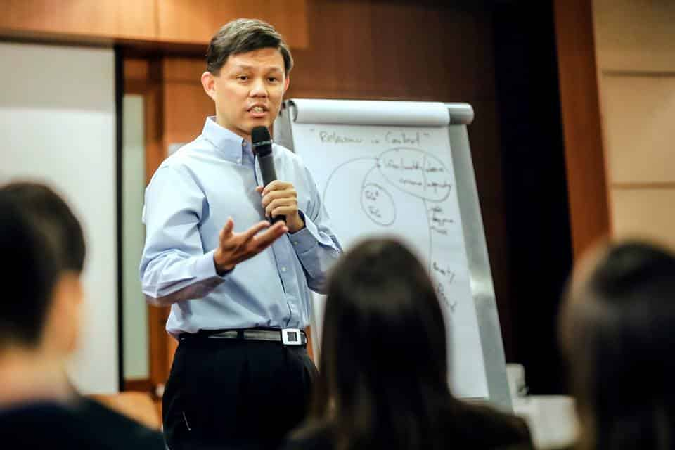 Chan Chun Sing at Public Policy Challenge 2016