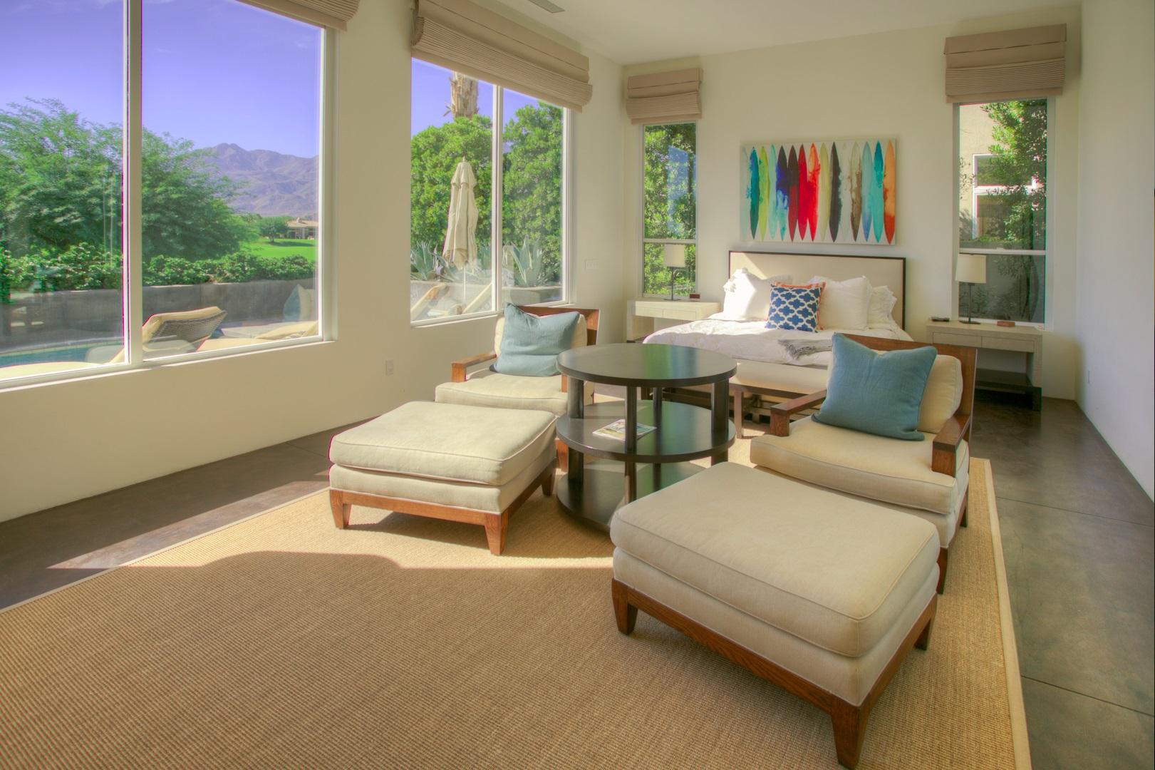Minimalist bedroom at PGA103 Spacious Modern Perfection at