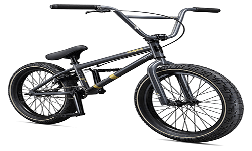 all black bmx bike