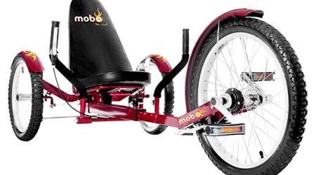 obo Triton Pro Adult Tricycle three wheel recumbent bike