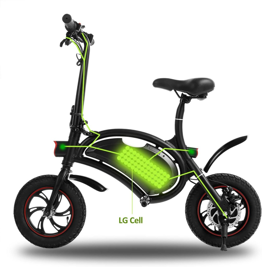 shaofu folding electric bike