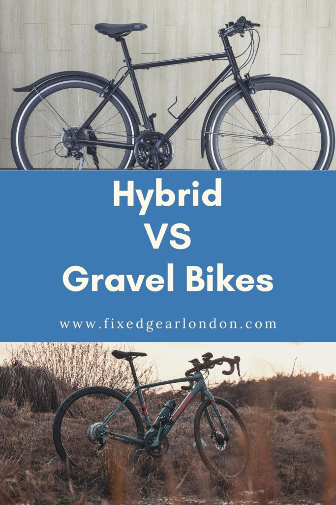 Hybrid VS Gravel bicycles