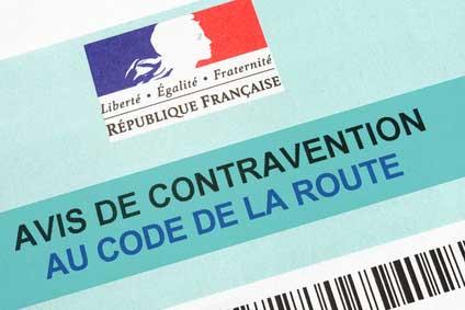 Avis de contravention en vélo - Fixie Lille