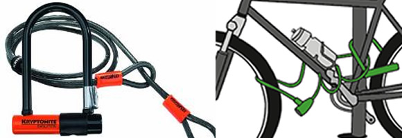 Antivol vélo - Kryptonite mini 7