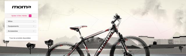Ventes-privées.com - Moma bikes