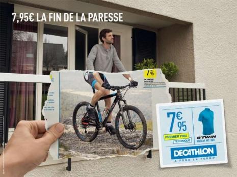 Le vélo et Décathlon : le passage à l'action