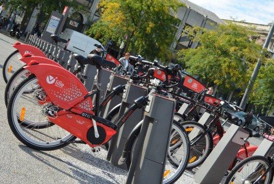 Vlille, les vélos libre service à Lille