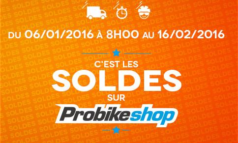 Soldes chez ProbikeShop => Foncez !