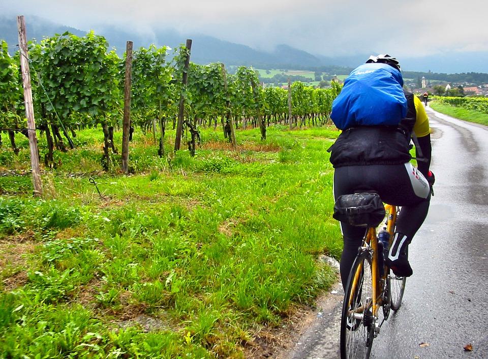 Mon sac à dos Decathlon pour le vélo